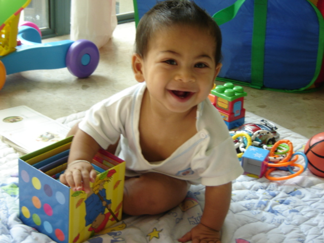 Jacob at 10 months